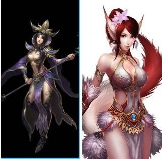 罗刹女和九尾狐