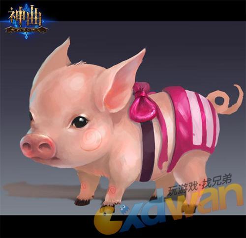粉红小猪坐骑