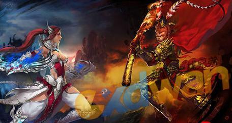 天神之战战斗美图