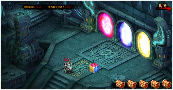 矿石迷宫战斗界面